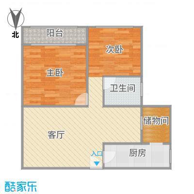 江桥电子商城的户型图
