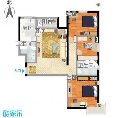 三室两厅两卫的装修
