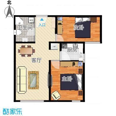 广悦居80.3平米A1户型