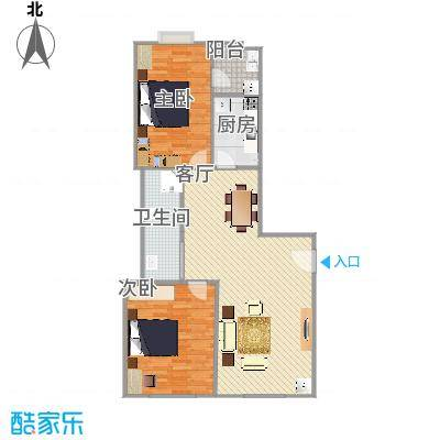 许昌瑞丰园两室两厅108