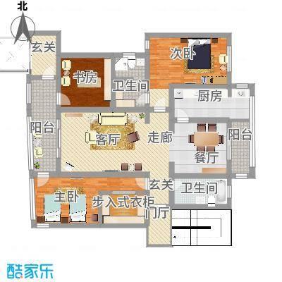三室两厅两卫电梯