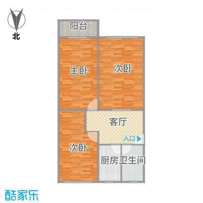 平南三村的户型图