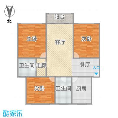金塔二村的户型图