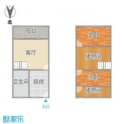 凤城四村的户型图