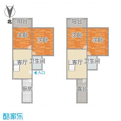 建业新村的户型图