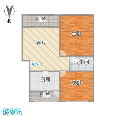君莲小区A区的户型图
