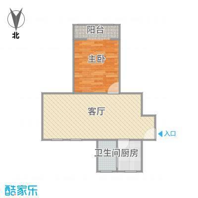 博山小区的户型图