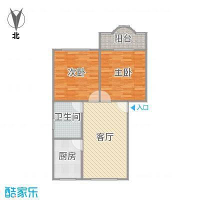 莲溪八村的户型图