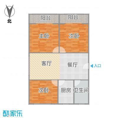 南华新村二期的户型图