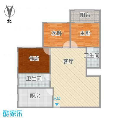 太阳公寓的户型图