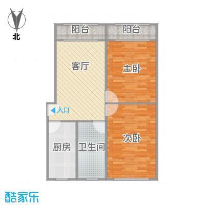 控江五村的户型图