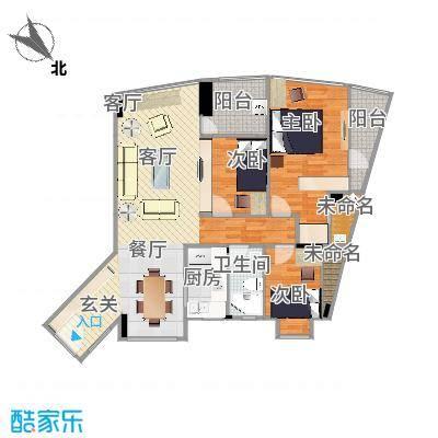城东名门户型图derrick-方案2
