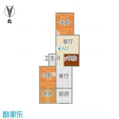 虹园六村的户型图