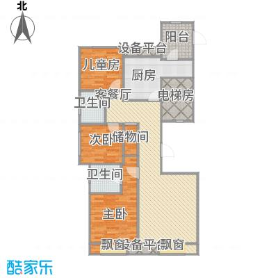 弘泽鉴筑2-117.03平+改后户型