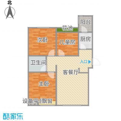 弘泽鉴筑5-105.70平+改后户型