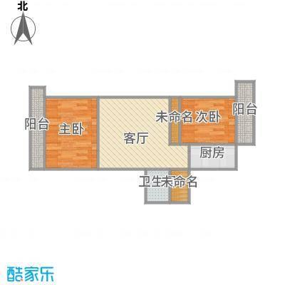乐山小区的户型图