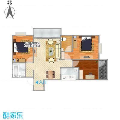家装E站测试版的户型图