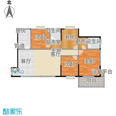 中环花园121.00㎡户型