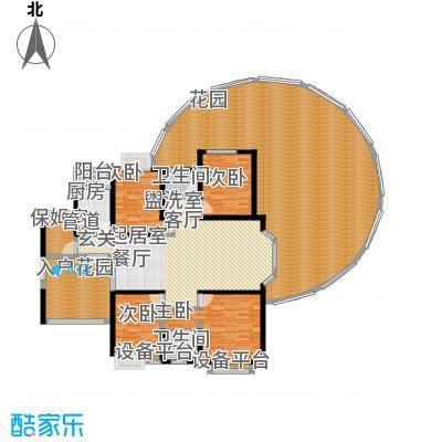 富湾国际211.00㎡03偶数层户型