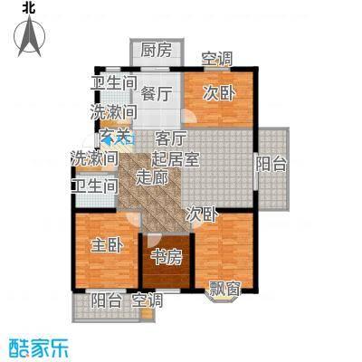 腾泰雅苑104.00㎡147m2户型