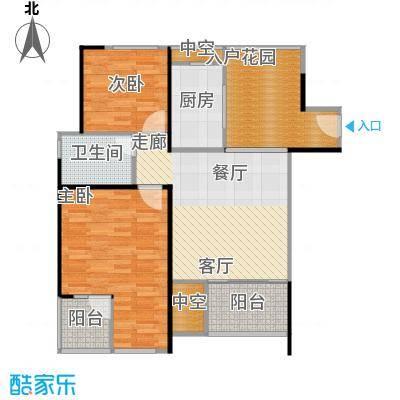 万科金色家园91.00㎡A栋404-3004单元户型