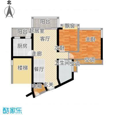 雍翠雅园85.11㎡东雅轩05户型