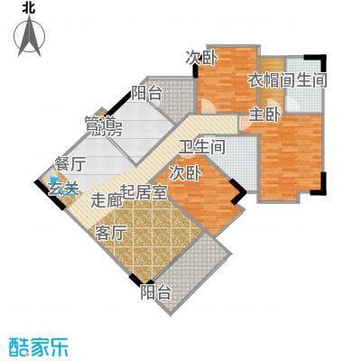 宏润巴塞阳光123.69㎡A4-D户型