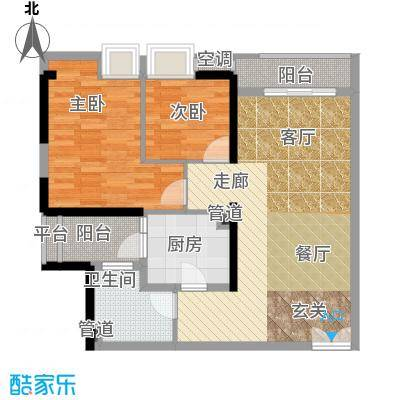 嘉宝华庭79.10㎡A8户型