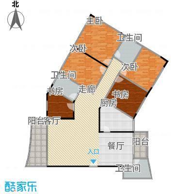 东方华尔兹183.51㎡房型户型