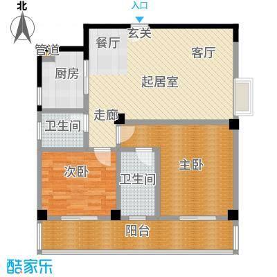 汉口中心嘉园B5户型