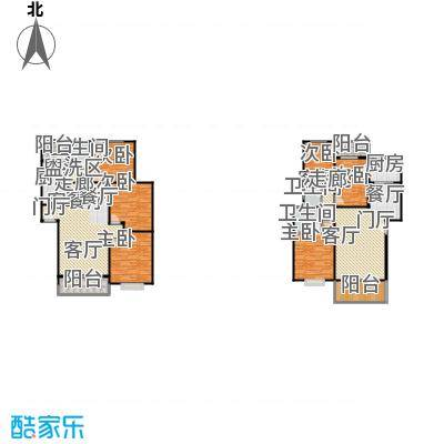 滨江美寓110.00㎡6-3户型
