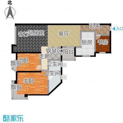 万寿华庭112.00㎡房型户型