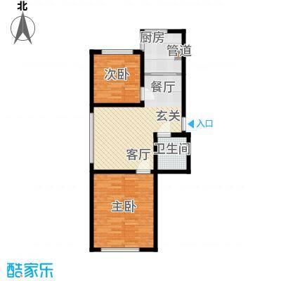 鑫丰馨园68.00㎡房型户型