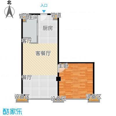 东城国际公寓906单位户型
