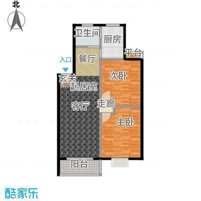 天骄花园界石・天骄花园95.59㎡户型