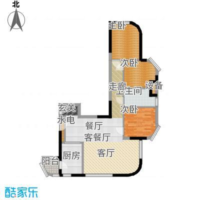开建阳光馨苑户型3室1厅1卫1厨