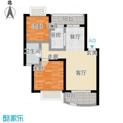 宏发雍景城61.00㎡60-户型