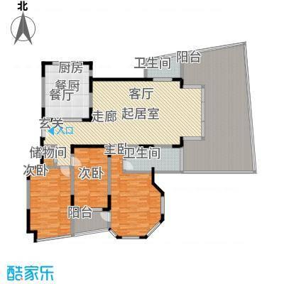 21世纪现代城户型3室2卫