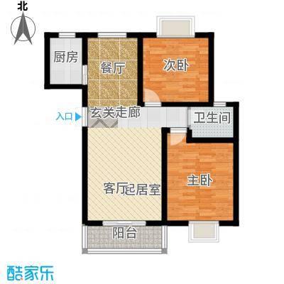 昆明花园92.25㎡在售在售悦湖公馆4A卧室飘窗39米阳台双厅相连户型