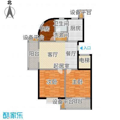 腾泰花苑115.52㎡11512m2户型