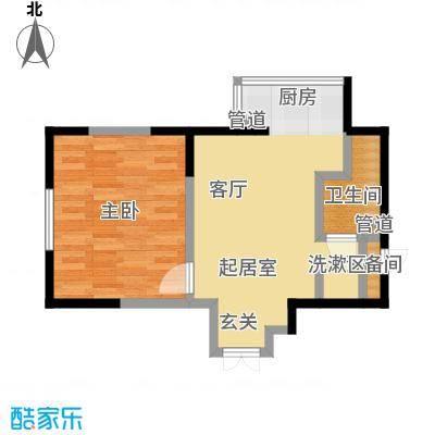 黎明昆山苑44.32㎡户型