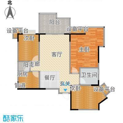骏逸江南71.21㎡房型户型