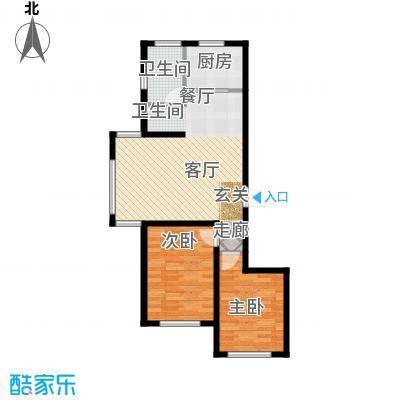 金鼎阳光苑89.00㎡B7户型