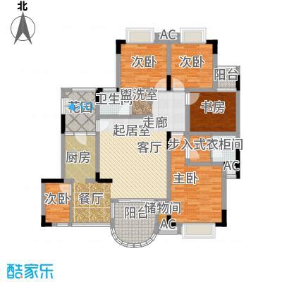 南方上格林・阳光美谷143.13㎡房型户型