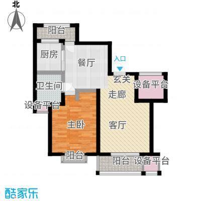 锦悦苑70.00㎡房型户型
