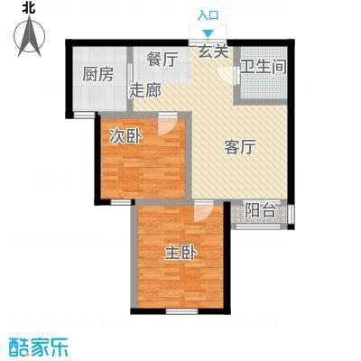 东森总部商务广场91.44㎡房型户型