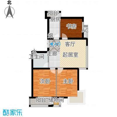 三江紫香园102.83㎡户型