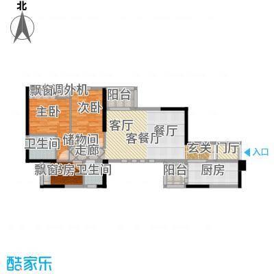 嘉宝华庭114.78㎡A07户型
