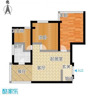 曲江观唐106.64㎡户型