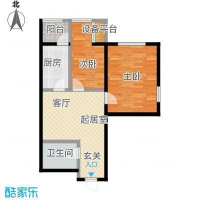 丽阳馨苑60.00㎡房型户型